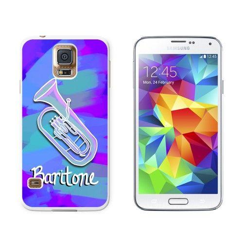 Baritone - Musical Instrument Music Brass Band Galaxy S5 Case, White