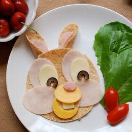 Thumper's Wrap Sandwich - a work of art!