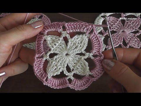 Уроки вязания крючком Crochet motif 2
