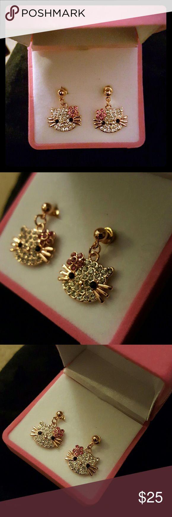 348 best Hello kitty earrings images on Pinterest | Hello kitty ...