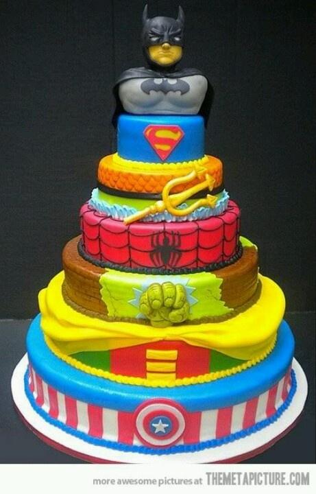 Super Heroes Wedding Cake!   Keywords: #superheroweddings #jevelweddingplanning Follow Us: www.jevelweddingplanning.com  www.facebook.com/jevelweddingplanning/