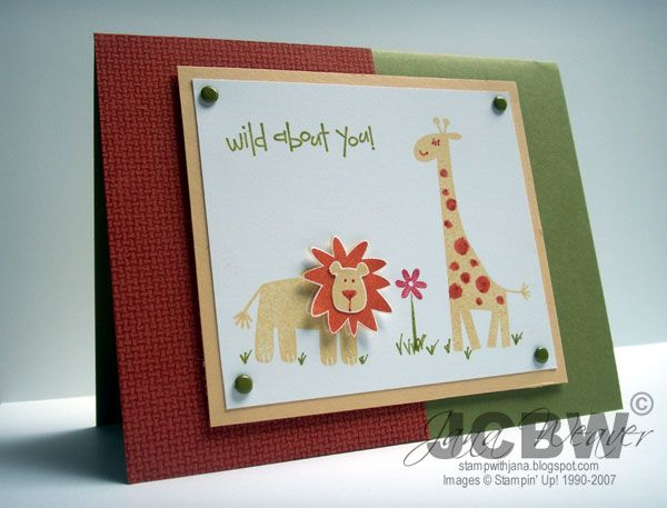 Stampin' Up! - Wild About You (Retired)