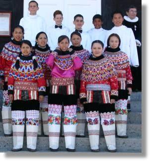 Grønlandske nationaldragter