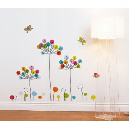 Miaco buttercups transfer wall decals