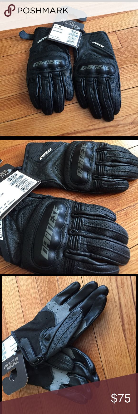Vanson leather motorcycle gloves - Nwt Dainese Motorcycle Gloves Boutique
