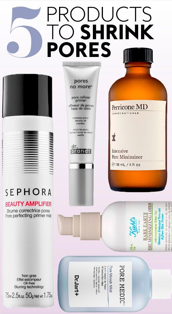 Want To Shrink Your Pores These 5 Products Actually Work In 2020 Best Skincare Products Skin Tips Shrink Pores