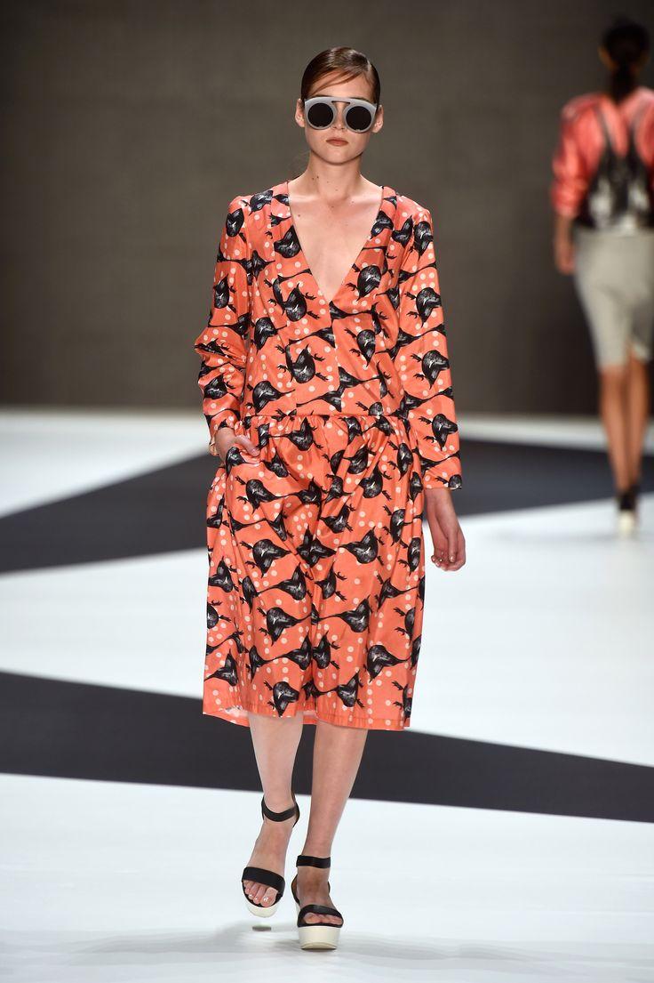 Look 2: Redhood Dress