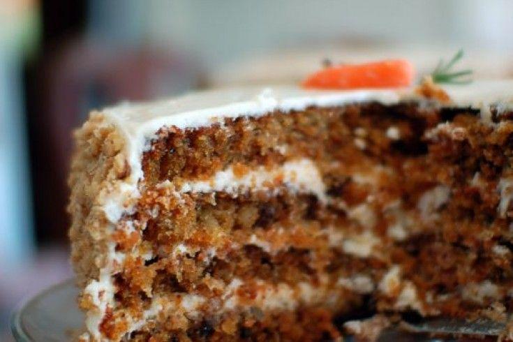 Goddelijke worteltaart (carrot cake) met mascarponecrème – Culy.nl