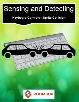 """The """"Sensing"""" blocks enable a script to see what is happening on your computer. They can detect keyboard controls and let sprites react when they touch each other. Here are various of sensing blocks and their functions. What You Get: • Sensing Blocks • Keyboard Controls • Sprite Collision • Using Sensing Blocks • Next Steps My Scratch Resources:"""