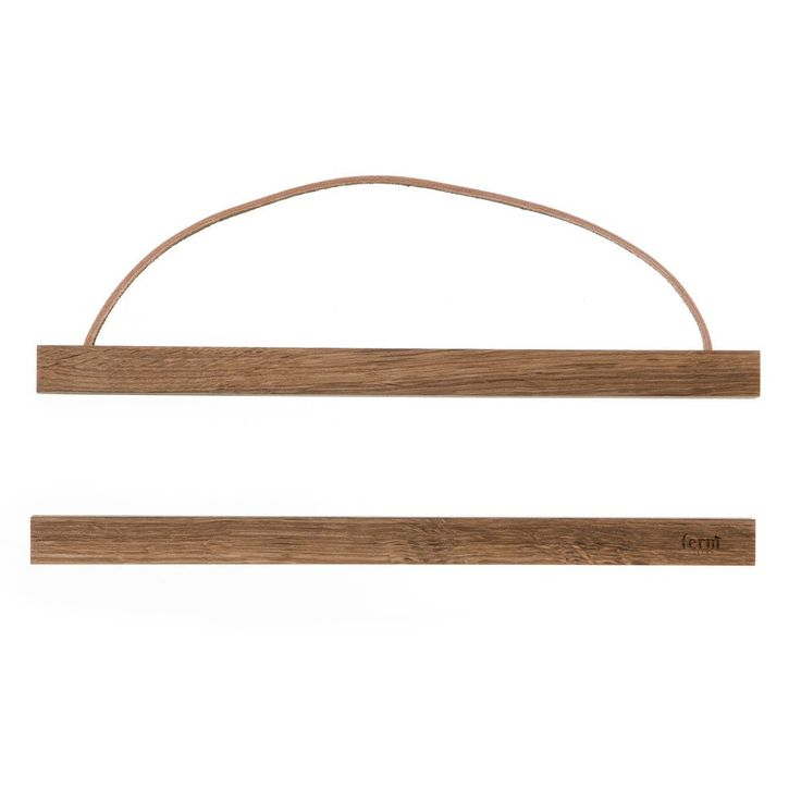 Wooden Frame från ferm LIVING i rökt ek.