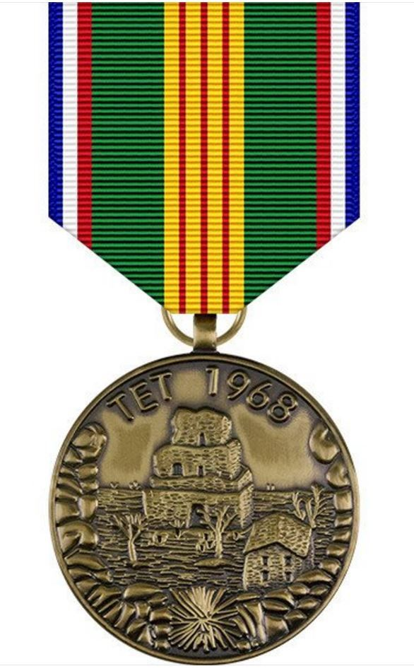 Vietnam Tet Offensive Commemorative Medal