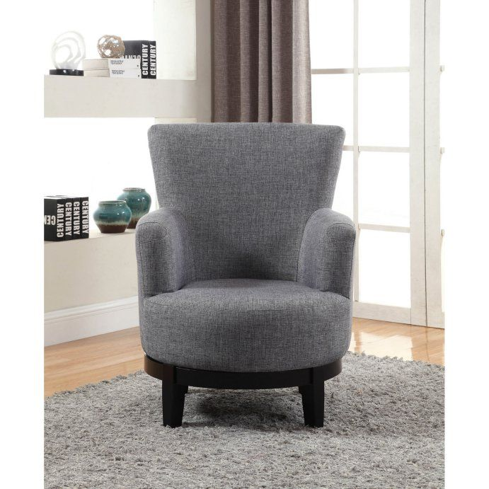 Nh Designs Swivel Accent Chair Hayneedle In 2020 Swivel Accent