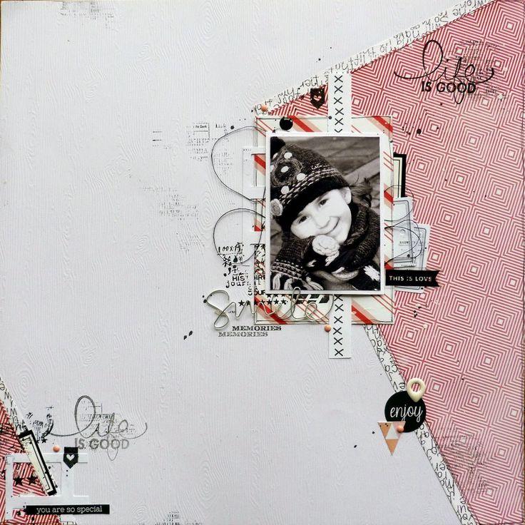 Watashi : me, myself and I: Sketch 373 {DT Scrapidées et DT Inspiration Création}