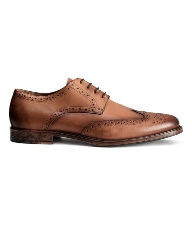 H&M Leather brogues 279 LEI