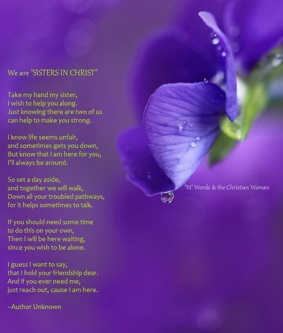 Prayer For My Sister Quotes: Best 25+ Sisters In Christ Ideas On Pinterest