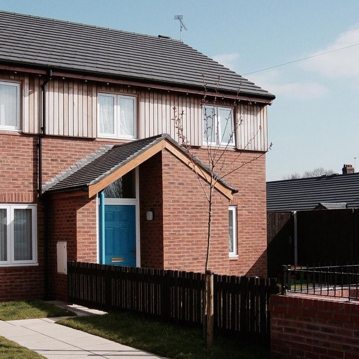 #ThrowbackThursday presents Cromarty Road completed in 2003 #housing #brick