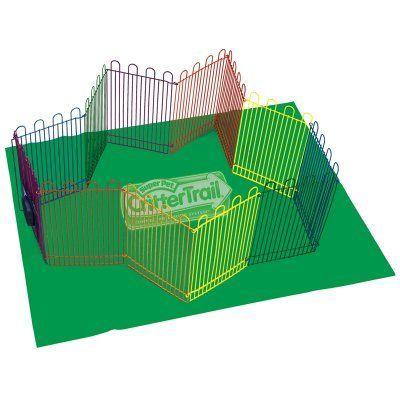 Super Pet Crittertrail Playpen With Mat - 276247