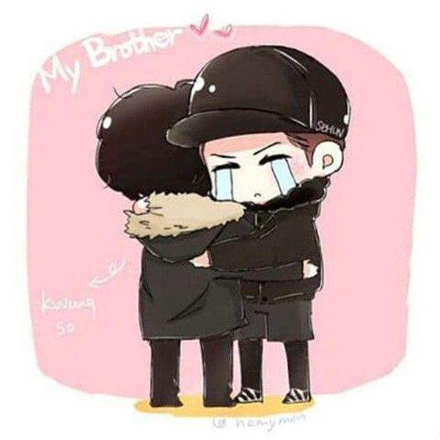 Sehun Exo Next Door...... Brother