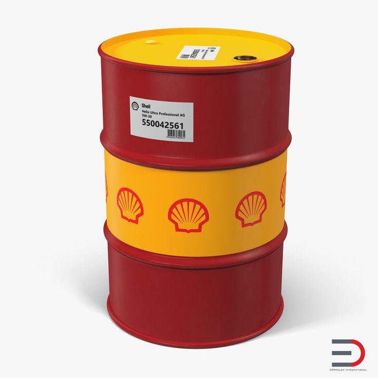Oil Barrel Shell