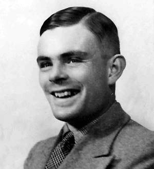 Alan Turing - built the Turing Machine in 1937, developed the Turing Test in 1950 to measure the intelligence of computers & of course, HE CRACKED THE ENIGMA CODE (well led the team anyway)