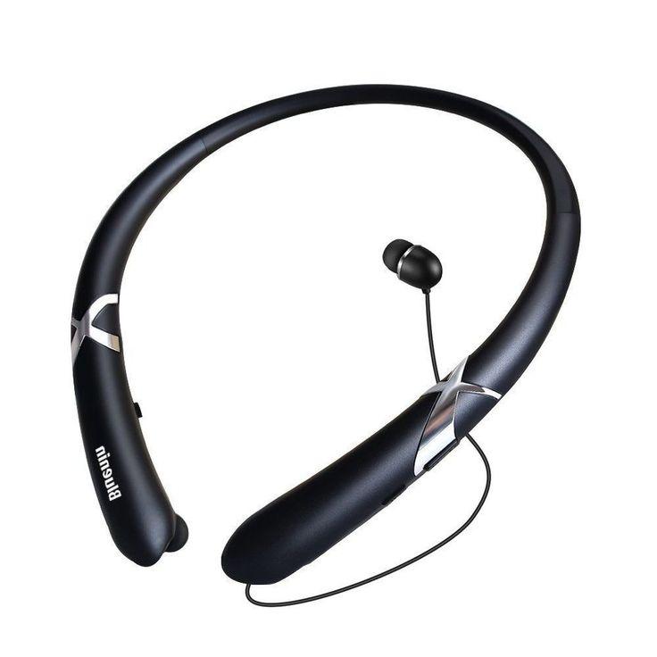 Bluetooth Headphones Wireless Headset Sport Sweatproof Earphones Running Sports  #BluetoothHeadphonesWireless