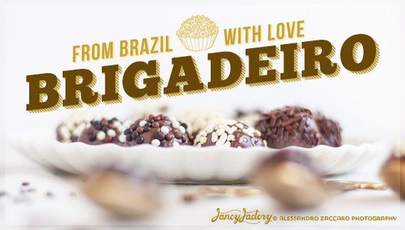 Brigadeiro, dolci tipici brasiliani • Brigadeiros, brazilian sweets