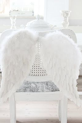 flying away one day with my new angel wings #ImDreamingOf @Kylie Coulson London