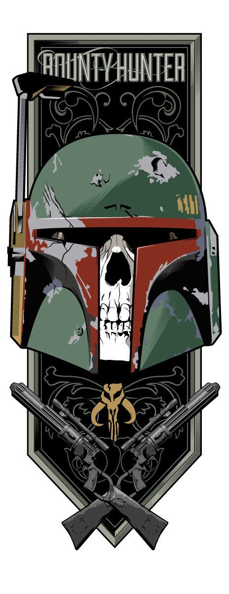 Star Wars - Boba Fett by Toby Gerber, possible Game of Thrones-inspired