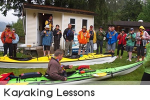 This Sechelt (shishálh) First Nations owned and operated cultural interpretative tour company's emphasis is on education in First Nations history, arts, ecological practices, outdoor adventure and safety. Talaysay Tours provides guided kayak tours, lessons, rentals, nature walks, museum tours, community-totem pole walks, longhouse tours, events, carving demonstrations, and drumming and singing.