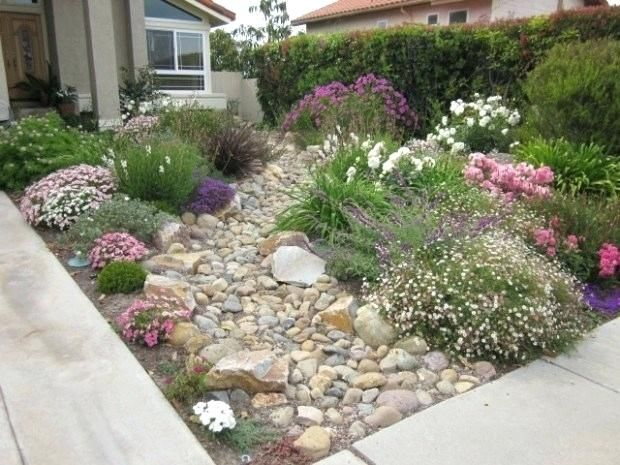 Front Garden Ideas With Parking Beautiful Small Front Yard Garden Design Ideas Fr Front Yard Garden Design Front Yard Landscaping Design Landscaping With Rocks