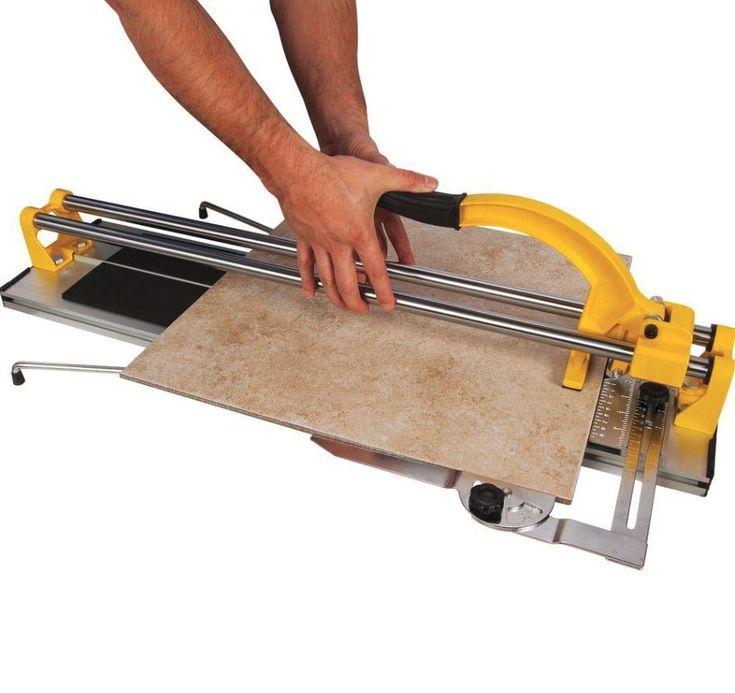 Porcelain Ceramic Tile Cutter Machine 24 in Floor Installation Tool Grip Handle #QEP