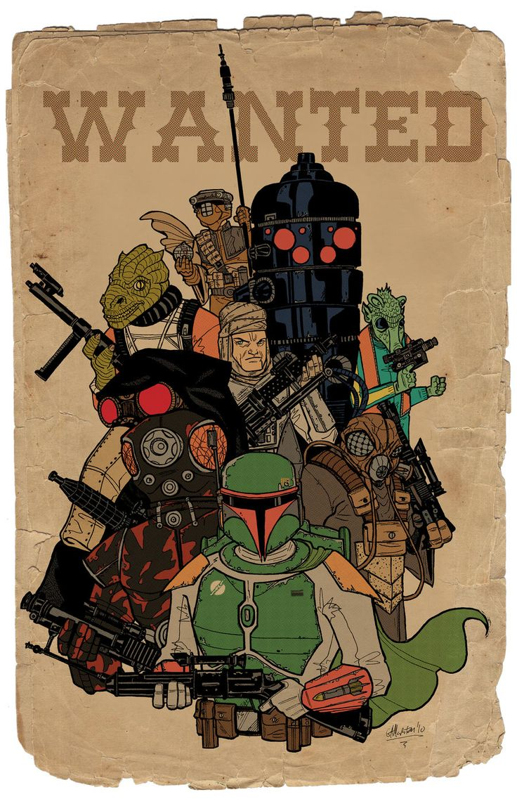 Bounty Hunters - Star Wars - George Marston