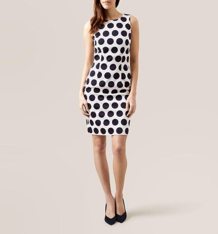 HOBBS Regan Spot Dress NEW SIZE 12 WAS £149 #HOBBS #shift #Party