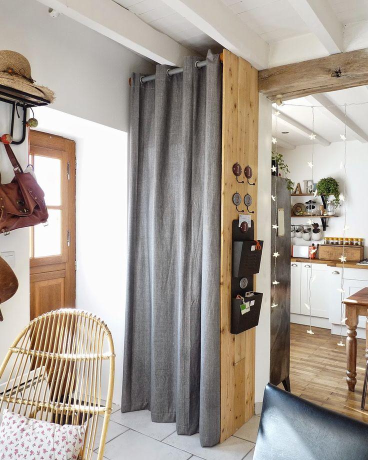 les 25 meilleures id es de la cat gorie rideau de porte bambou sur pinterest rideaux de douche. Black Bedroom Furniture Sets. Home Design Ideas