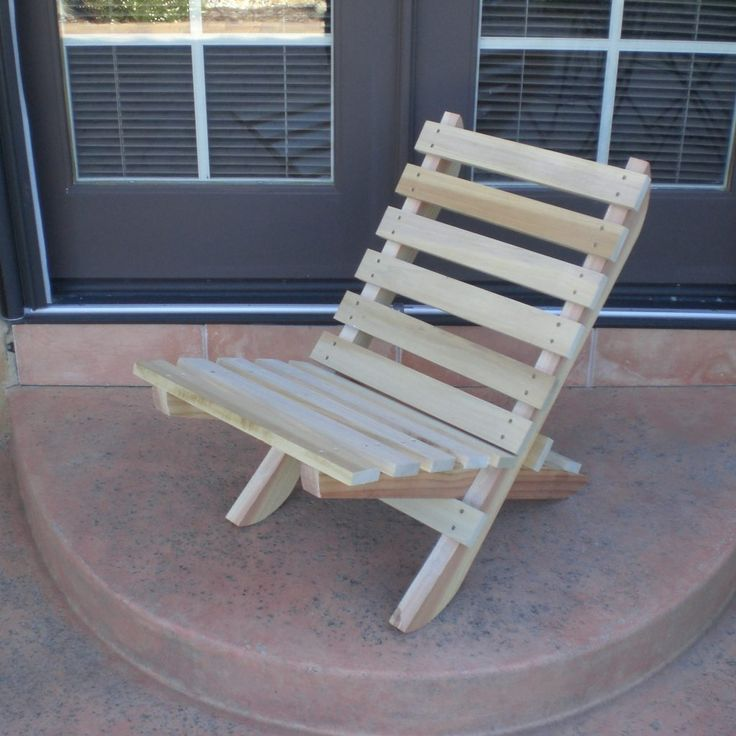 Fold Up Wooden Chair Plans