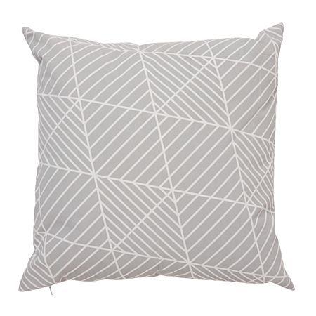 Living & Co Cushion Dakota Grey 43cm x 43cm