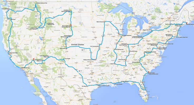 How to Actually Drive Across the USA Hitting All the Major Landmarks - GeekMom