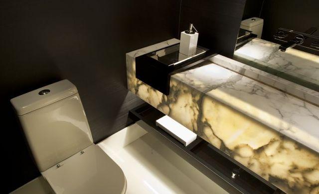 Cubas esculpidas - veja diferentes tipos e banheiros/lavabos lindos!
