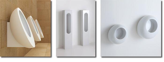 Afbeelding van Luca Sanitair komt met 3 nieuwe Italiaanse urinoirs