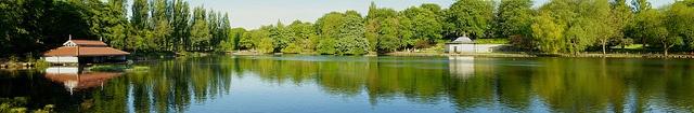 Walsall Arboretum Panorama