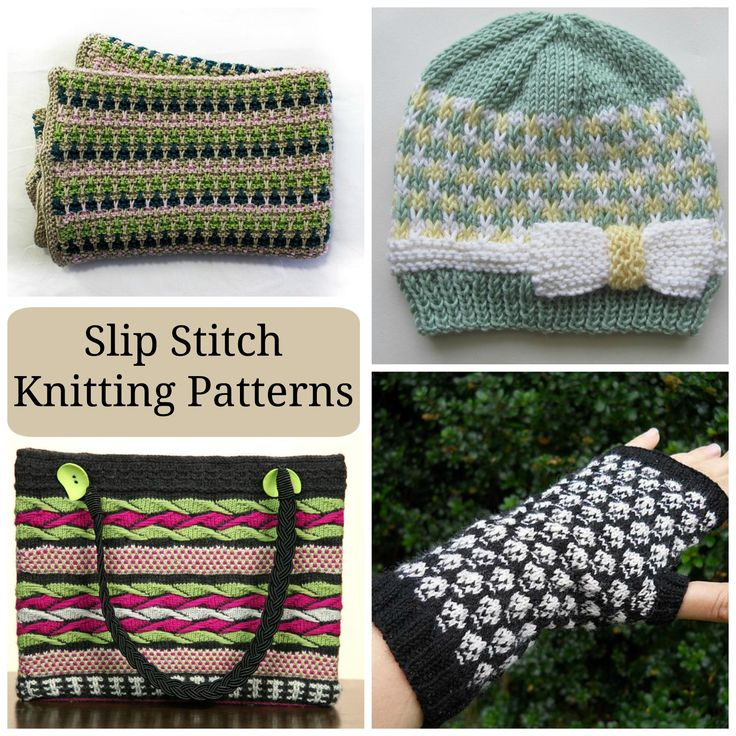 Slip Stitch Knitting Baby Blanket Pattern : Easy-Peasy Colorwork: Slip Stitch Knitting Patterns To be, Mosaics and The ...
