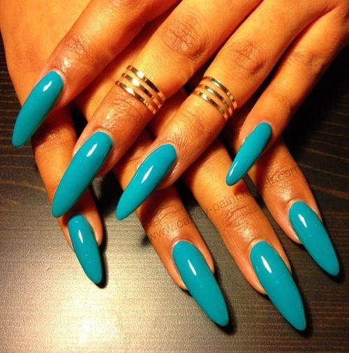 long almond nails ideas