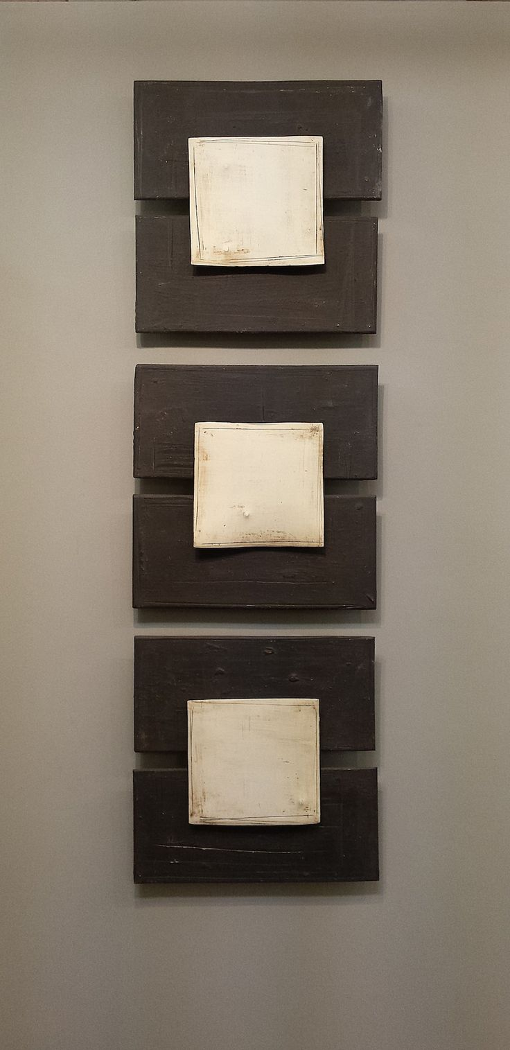 Triptych by Lori Katz: Ceramic Wall Art available at www.artfulhome.com