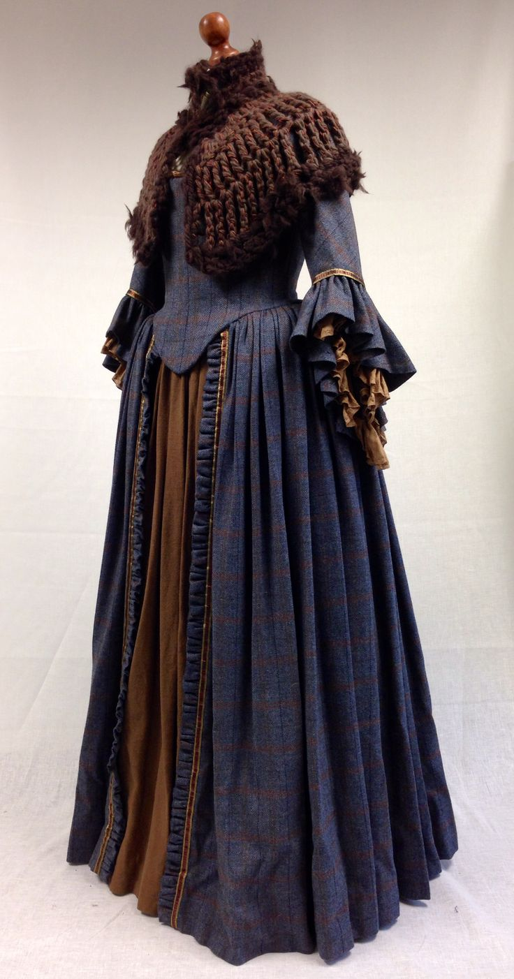I get positively teary over Lettitia. I LOVED her. I loved everything about her. We never saw her standing. She had some truly wonderful costumes. And her costumes were the first place I used a kni...