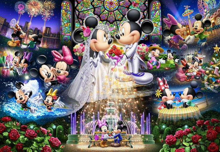 Disney Wedding Dream jigsaw puzzle (2000 Piece)