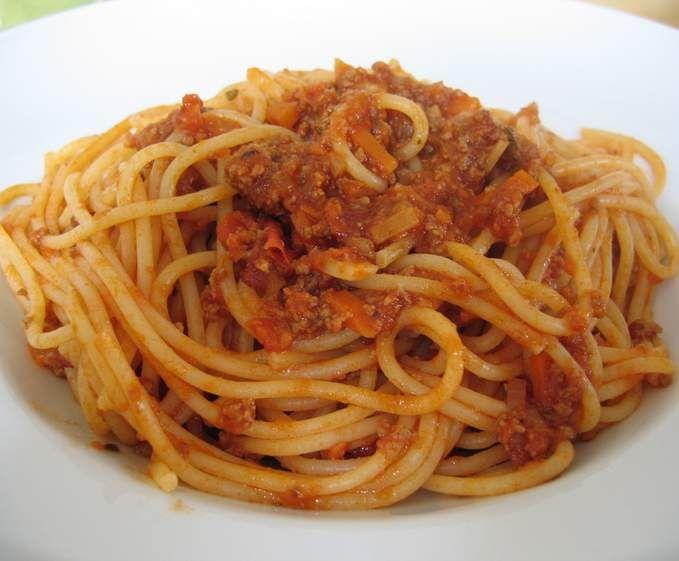 Przepis Sos Bolognese do spaghetti przez urafal - Widok przepisu Makarony i dania z ryżu