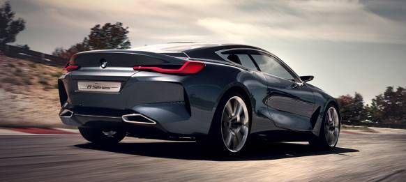 The new BMW Concept 8 Series combines the agility of an athlete with the manner of a gentleman.