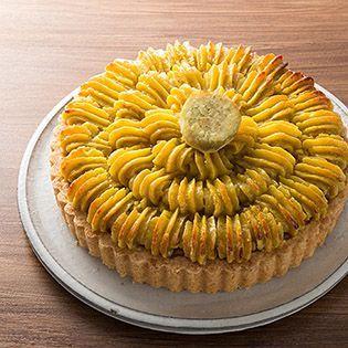 さつま芋のタルトの画像