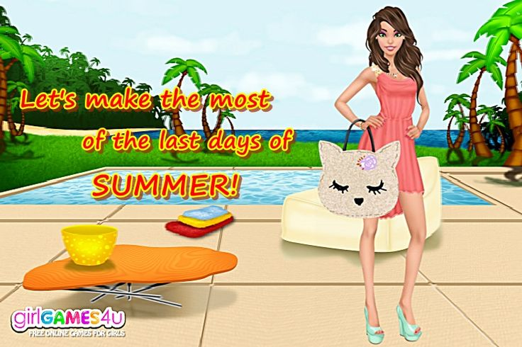 Enjoy the #beautiful, sunny days in a #fabulous #outfit! #outfitoftheweek ***  #Game's link: http://www.girlgames4u.com/exotic-summer-makeover-game.html ✿ ✿ ✿
