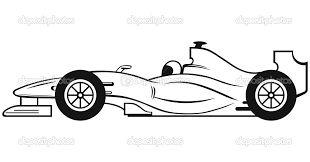 Resultado de imagen de silueta coche carreras